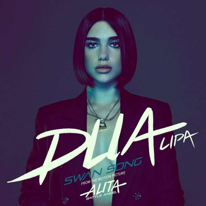 "Resultado de imagen de Dua Lipa - ""Swan Song (From 'Alita: Battle Angel')"""